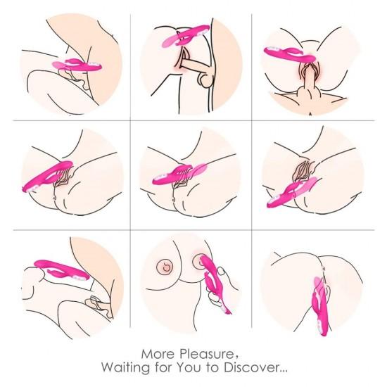 G Spot Rabbit Vibrator Heating Clitoris G-spot Stimulation Waterproof  9 Powerful Vibrations India Women Sex Toy