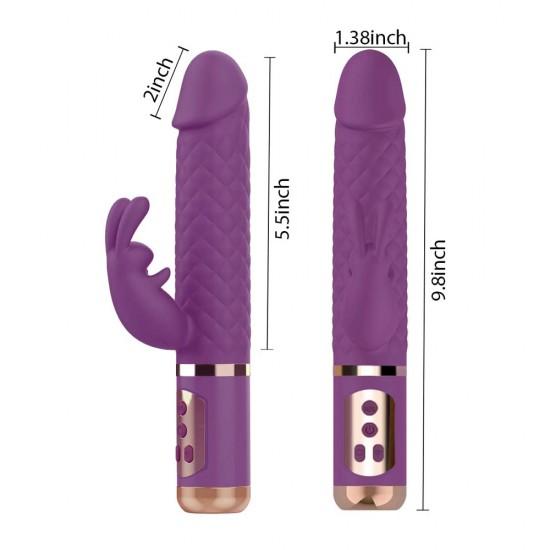 Rabbit Vibrator India Rotating G Spot Clitoris Stimulation Women Sex Toys