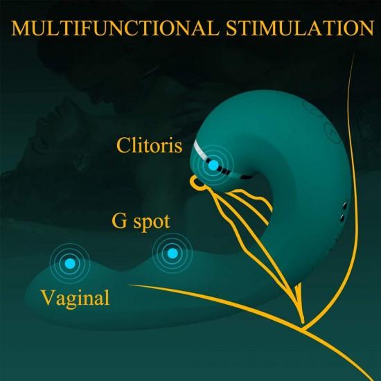 Sucking Vibrator India Clit Sucker G Spot Vibrating Adult Sex Toys for Women
