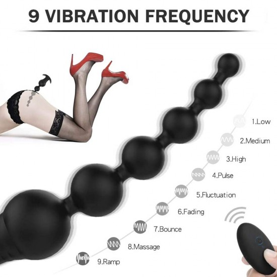 Vibrating Anal Beads Rechargeable Waterproof Anal Sex Toy India
