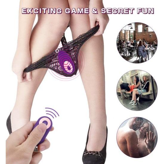 Vibrating Panty Wearable Vibrator Wireless Remote Control Clitoris Stimulation Female Sex Toy India